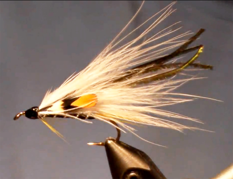 video how to tie the black ghost marabou streamer orvis
