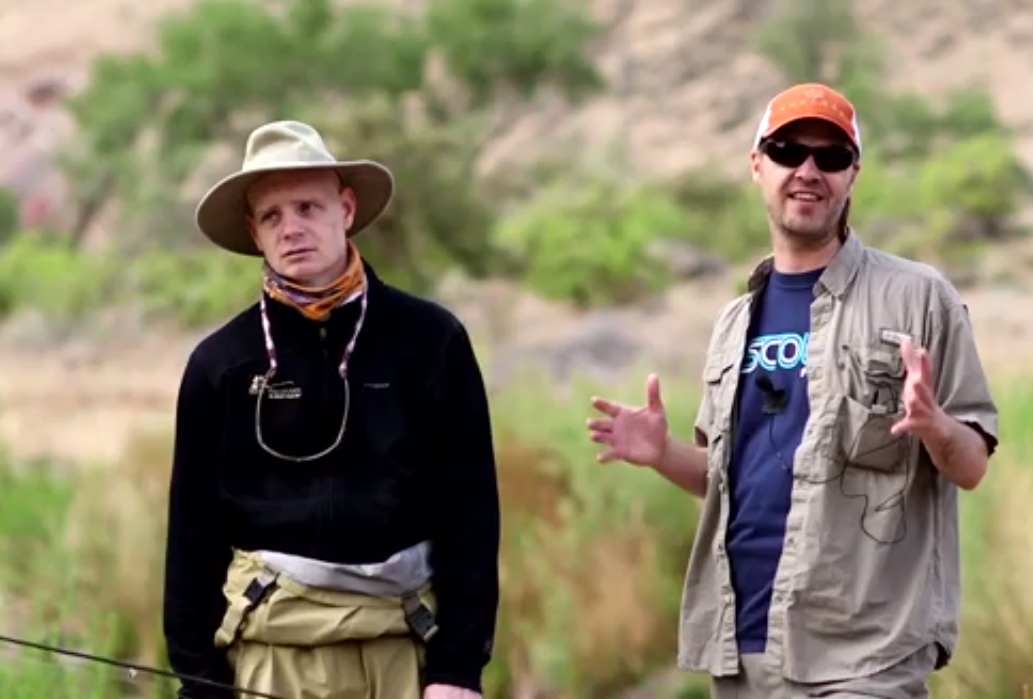 Video hank patterson episode 7 on essential gear orvis for Hank patterson fly fishing