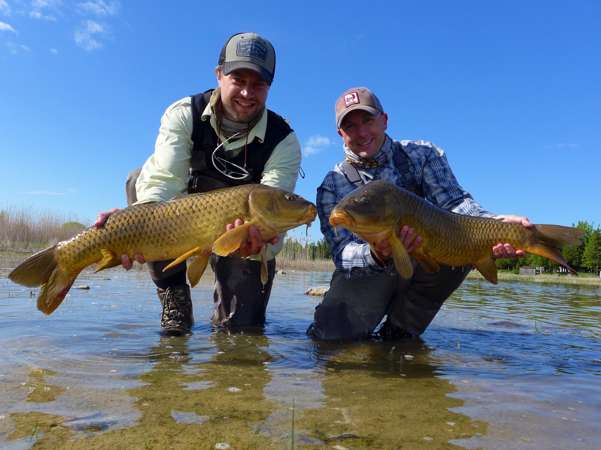 Trip report lake michigan carp extravaganza orvis news for Orvis fishing report