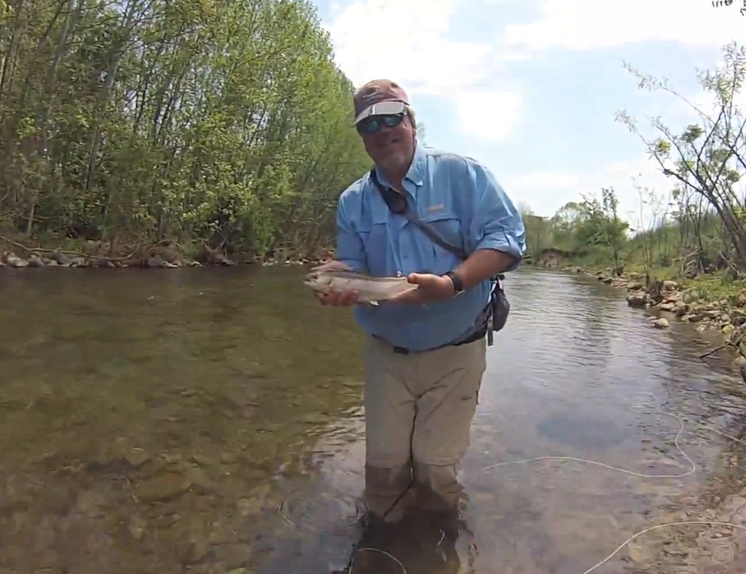 Video rocking a fly fishing school in virginia orvis news for The fishing school