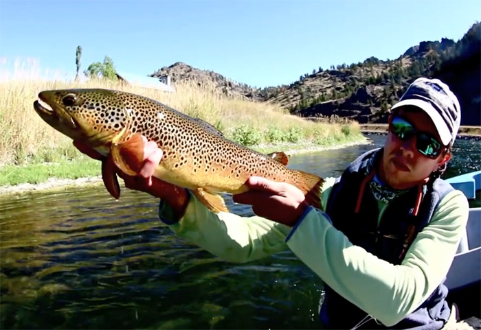 Video missouri river days orvis news for Trout fishing in missouri