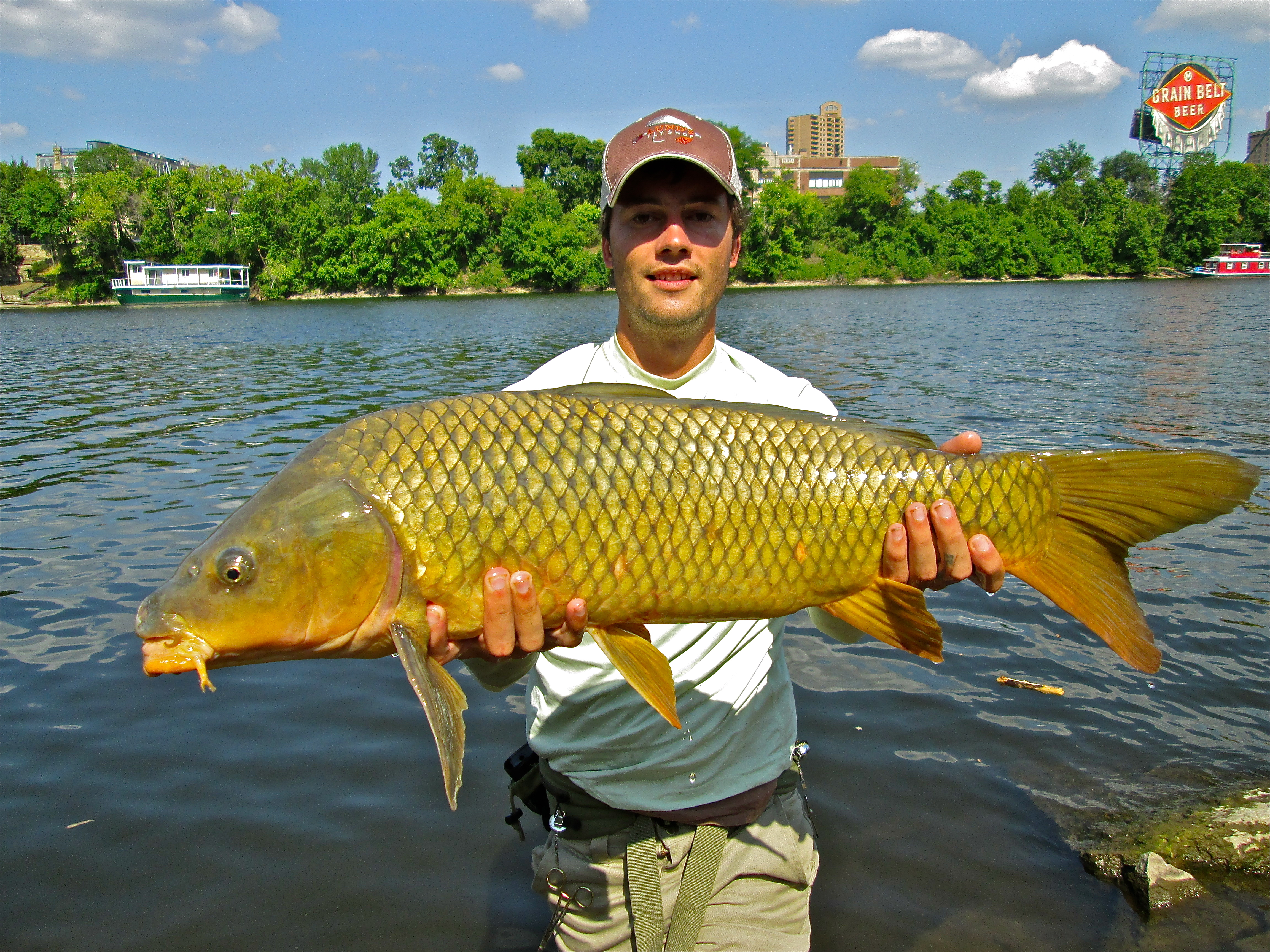 The quest for a monster carp comes true orvis news for Best fishing in the us