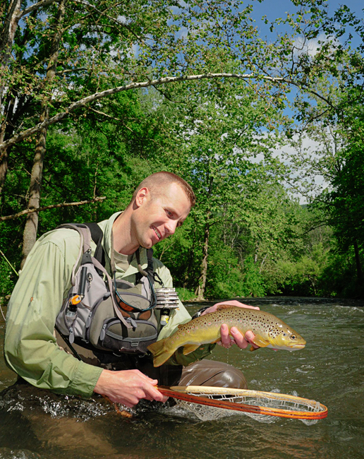 Trout bum of the week xiii george daniel orvis news for George daniel fly fishing