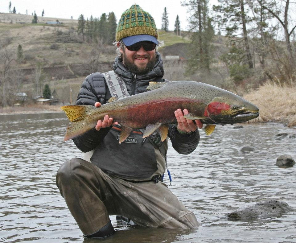 Trout bum of the week xiv mike dawkins orvis news for Fly fishing guide jobs