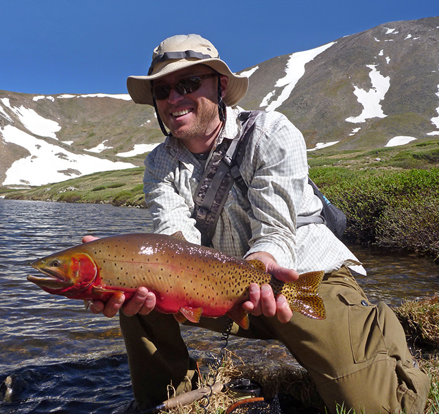 Golden Trout Wyoming | Orvis Trout Bum Of The Week Xxvii Jon Hill Orvis News