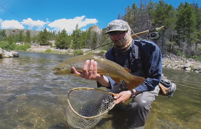 Video peace of mind orvis news for Colorado fishing guide