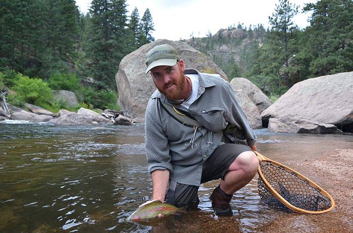 Trout bum of the week xxxviii alan peak orvis news for Peak fishing times