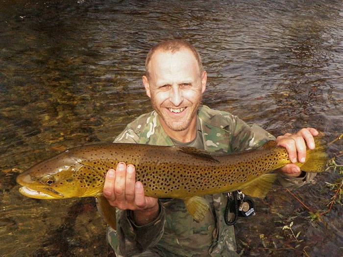 Trout bum of the week xli drew price orvis news for Vermont trout fishing