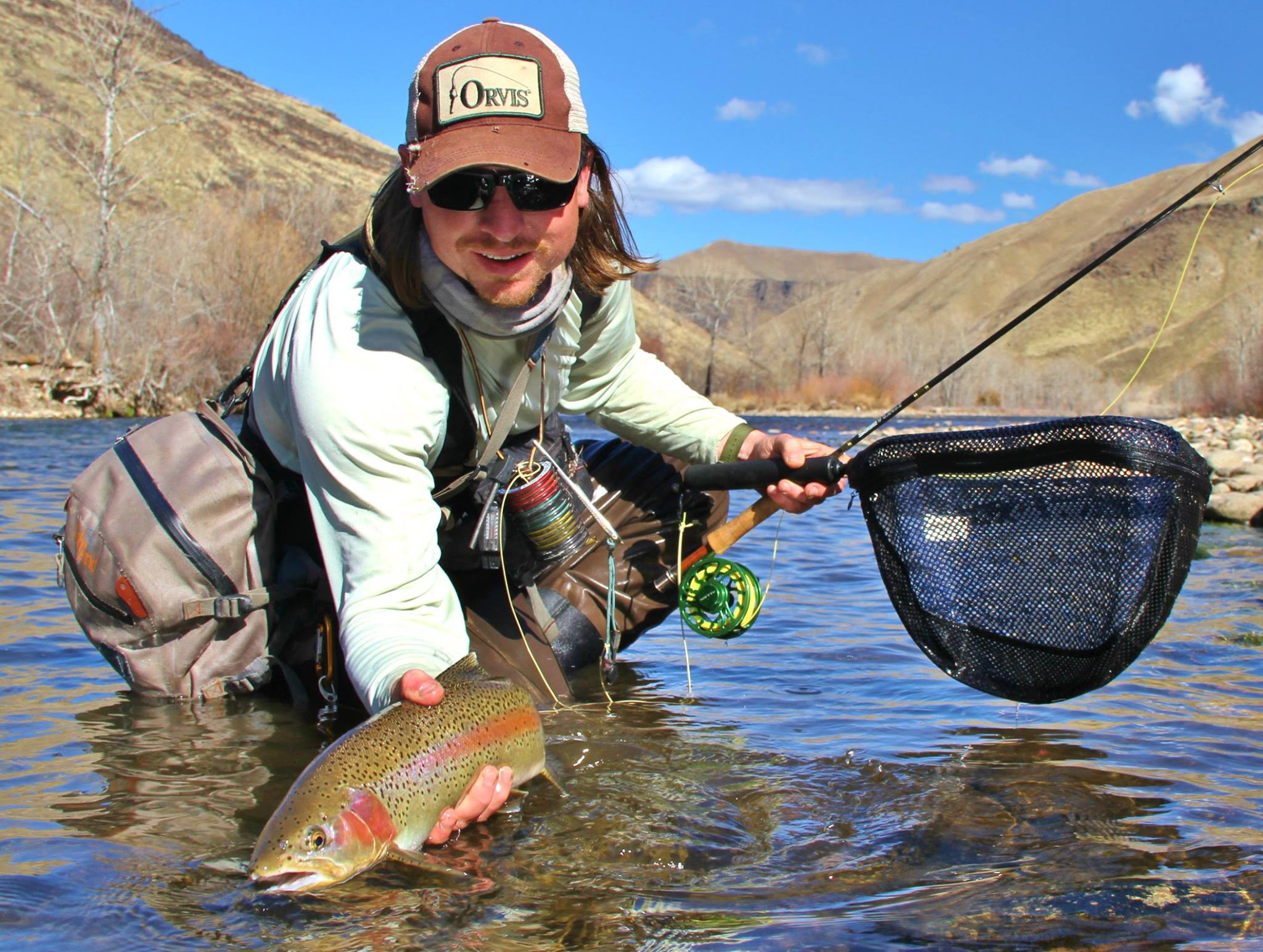 Photos of the day rainbows of southern idaho orvis news for Fly fishing idaho