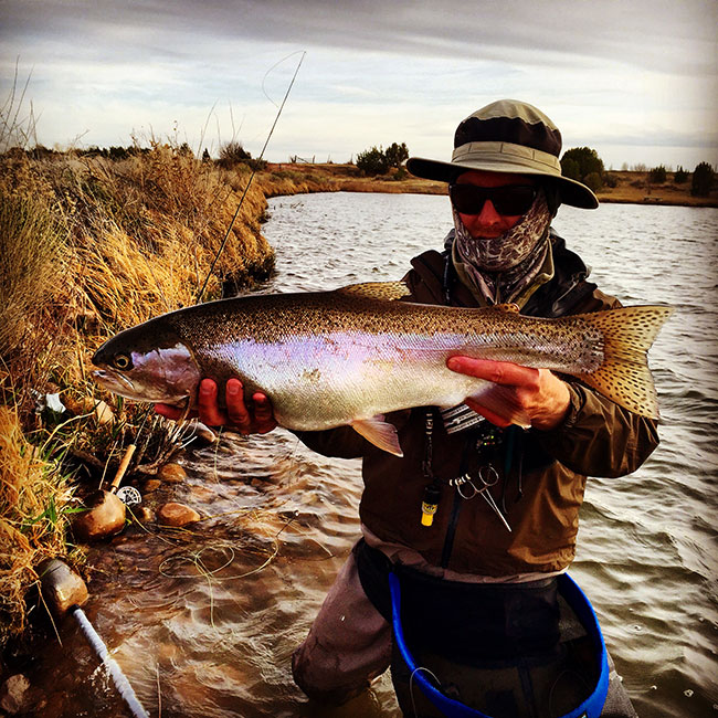 Photo of the day practice session rainbow trout orvis news for Fly fishing team usa