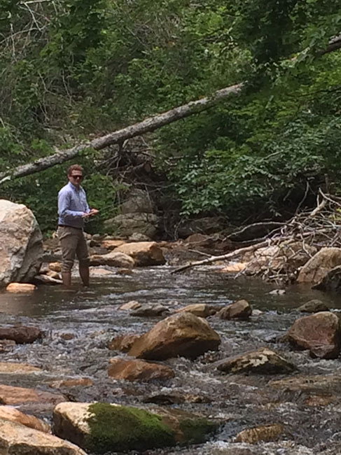 10 tips for fly fishing small mountain streams orvis news for Orvis fly fishing 101
