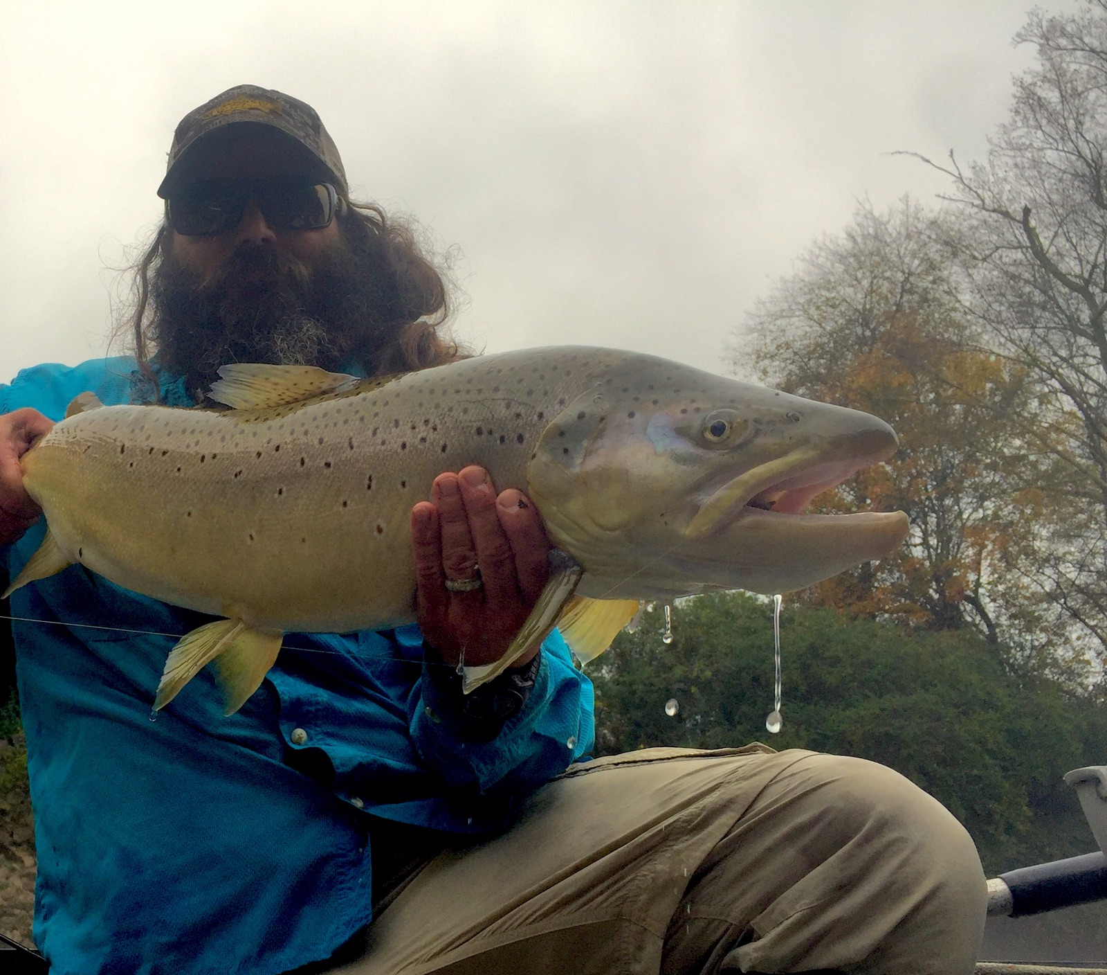 Photo of the day humongous hooch brown trout orvis news for Orvis fly fishing