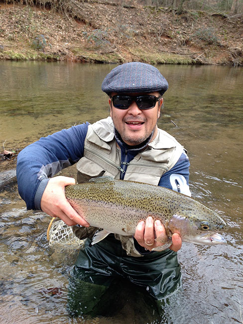 Photo southern charms for a northern angler orvis news for Trout fishing in helen ga