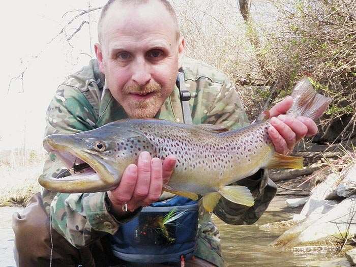 Classic pro tips dead drifting streamers for big trout for Fly fishing shows