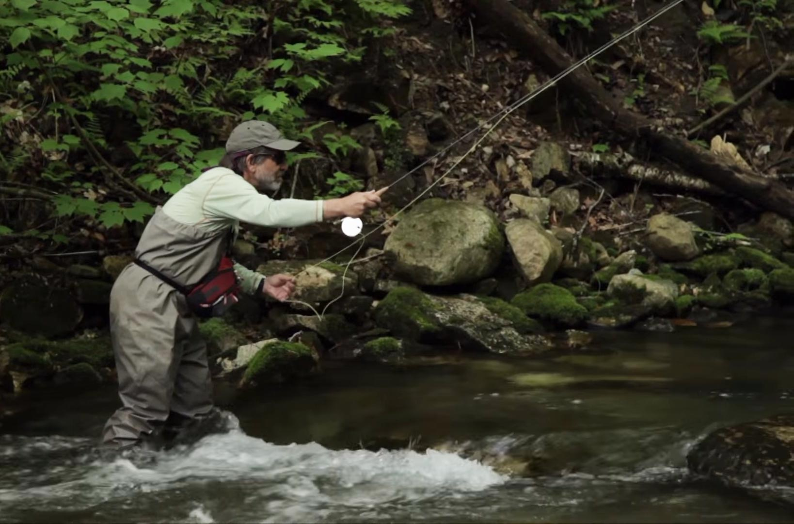 Video the orvis guide to fly fishing episode i the for Fly fishing flies chart