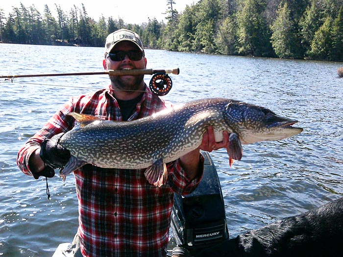 Photo of the day pikezilla in upstate new york orvis news for New york fishing