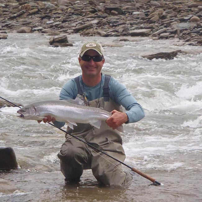 Podcast advanced steelhead tips with damon newpher for Fly fishing podcast