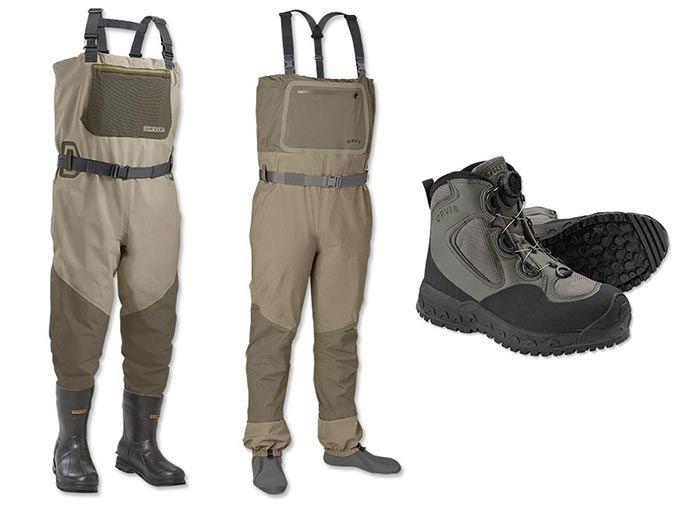 Pro tips bootfoot or stockingfoot waders orvis news for Fly fishing waders