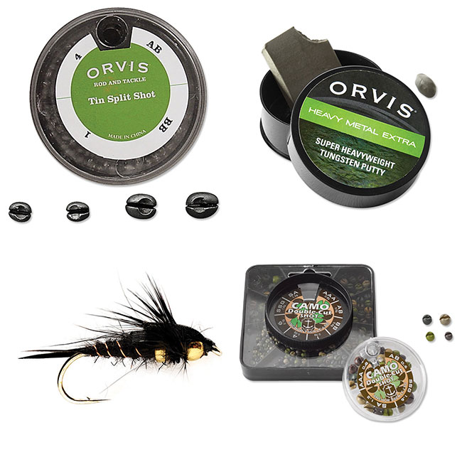 Ask the Experts: How do you know how many and what size split shot to use? - Orvis News