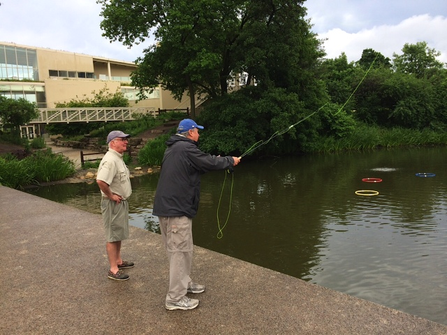 Chicago 39 s north pond casting pier needs your support for Chicago fly fishing