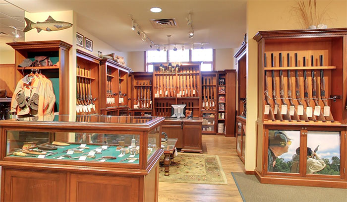Fascinating browning shotguns from the orvis gun room for How to build a gun room