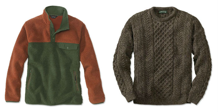 2ca5c308d1620 Should you wear a fleece or a wool layer when you head out on your next  cool-weather adventure? As you're pondering which sweater or sweatshirt to  grab in ...
