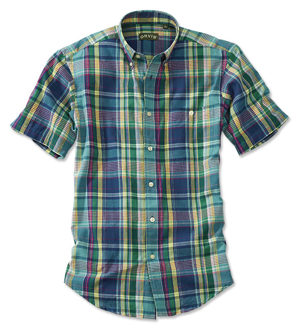 Checkered Past  A Brief History of the Madras Plaid Shirt - Orvis News f2086a678c