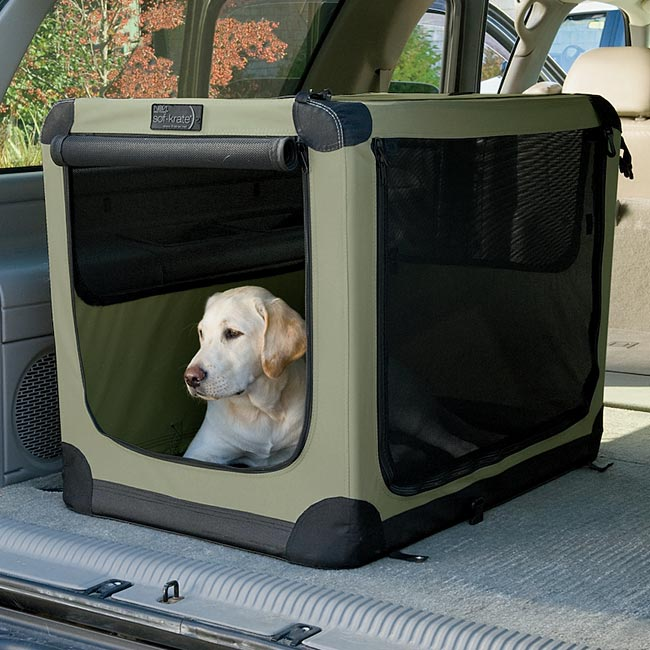 20lgm9sd Lg Folding Nylon Travel Dog Crate