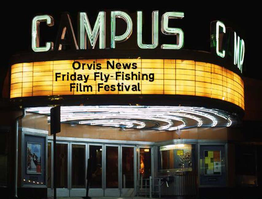 Friday Fly Fishing Film Festival 10.18.19