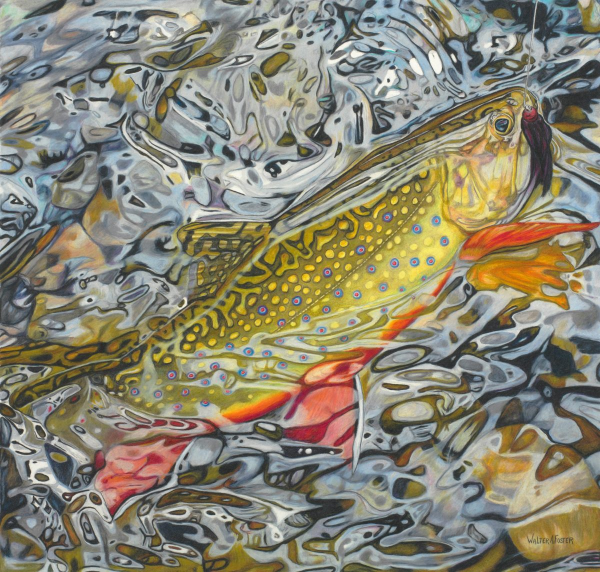Angling Art: Walter Foster's Detailed Visions