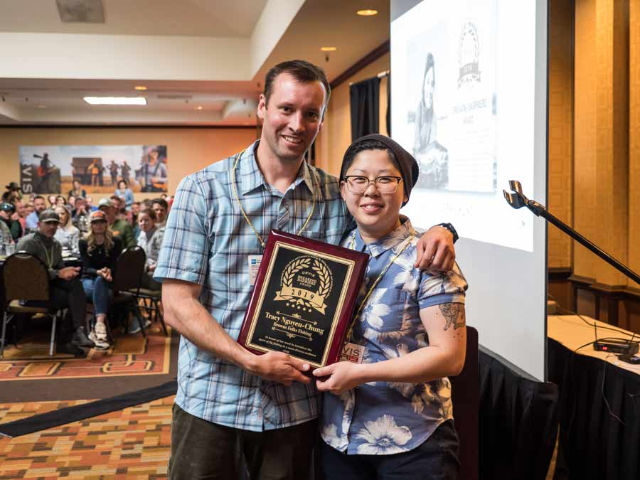 Meet the Recipient of the 2019 Orvis Breaking Barriers Award