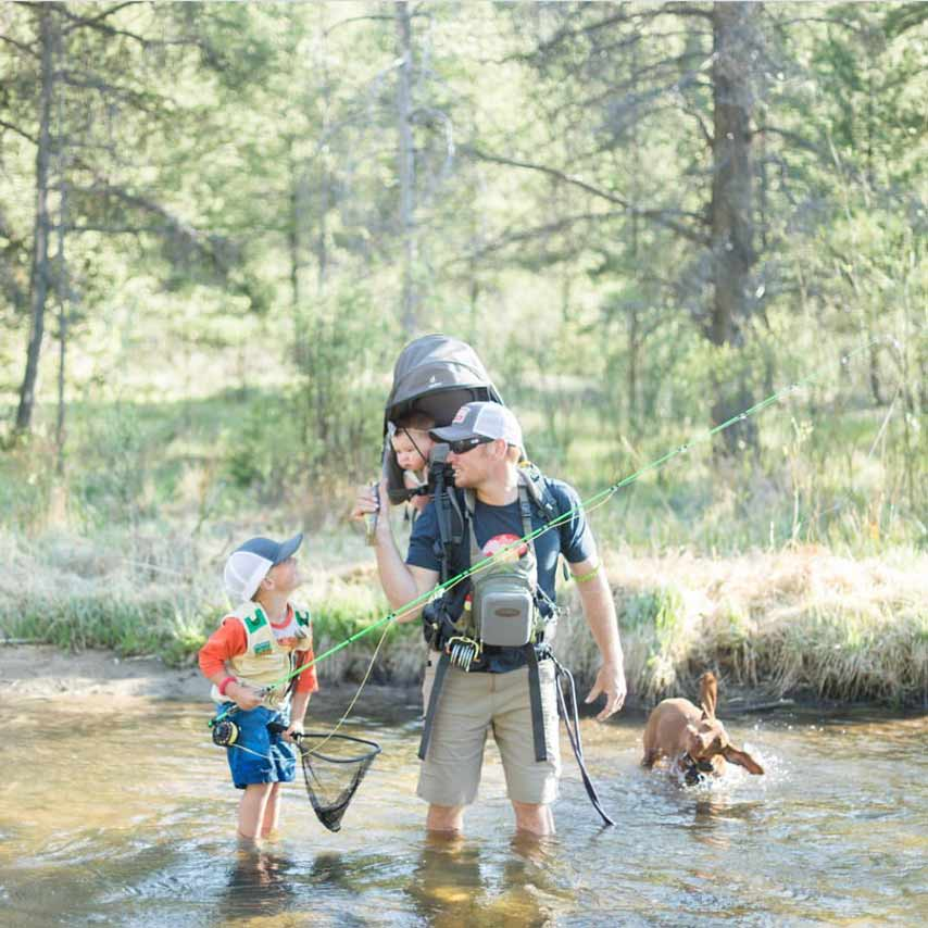 "Win a Helios 3 Fly Rod in Our 2020 ""Dad Outdoors"" Photo Contest!"