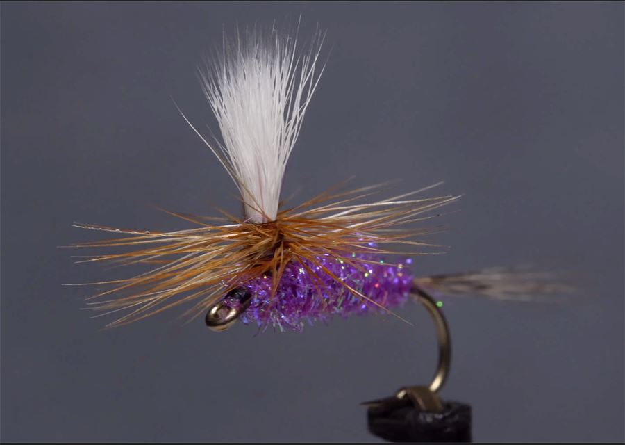 Video: How to Tie the Speedy Sparkle Purple Haze