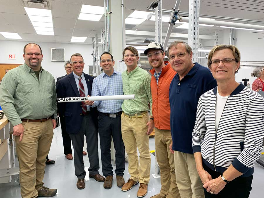 Vermont Governor Visits Orvis Rod Shop in Manchester