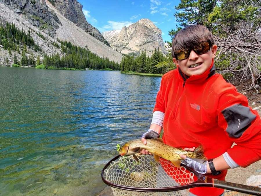 Meet the First Kid to Complete the Expert Level of the Western Native Trout Challenge