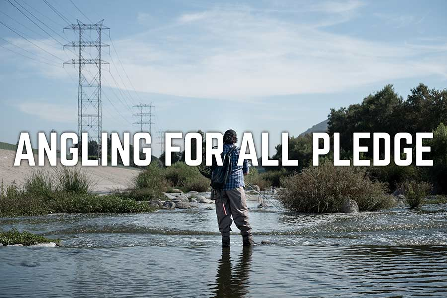 Brown Folks Fishing Launches the Angling for All Pledge, with Orvis as the First Signee