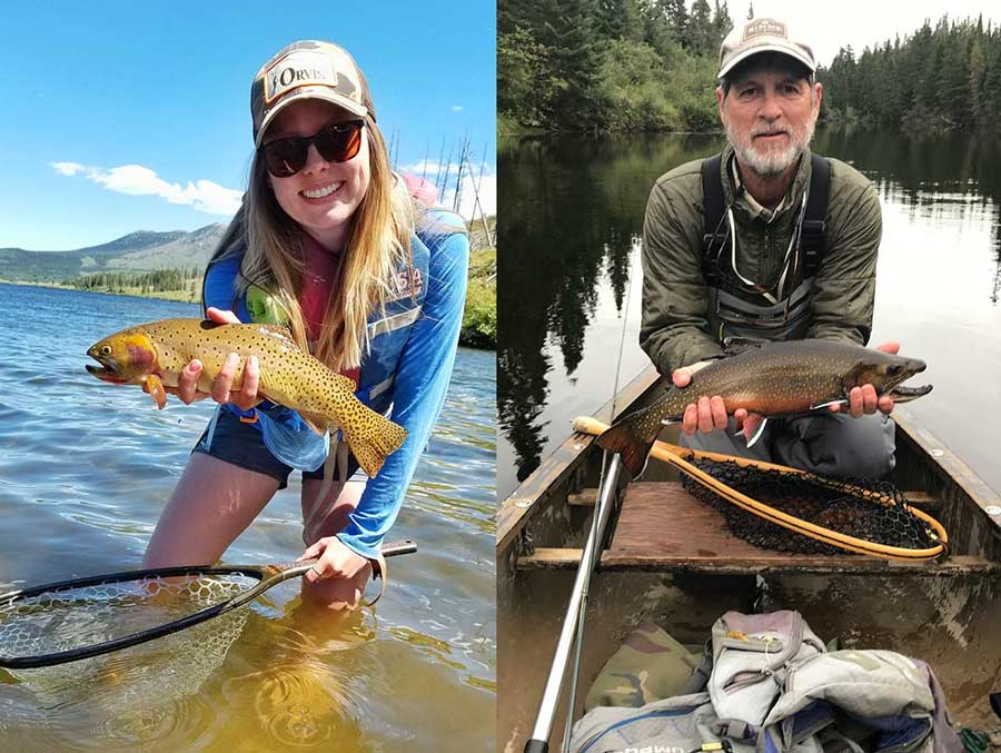 Podcast: Small Streams East and West, with Rachel Therkildsen and Brett Damm