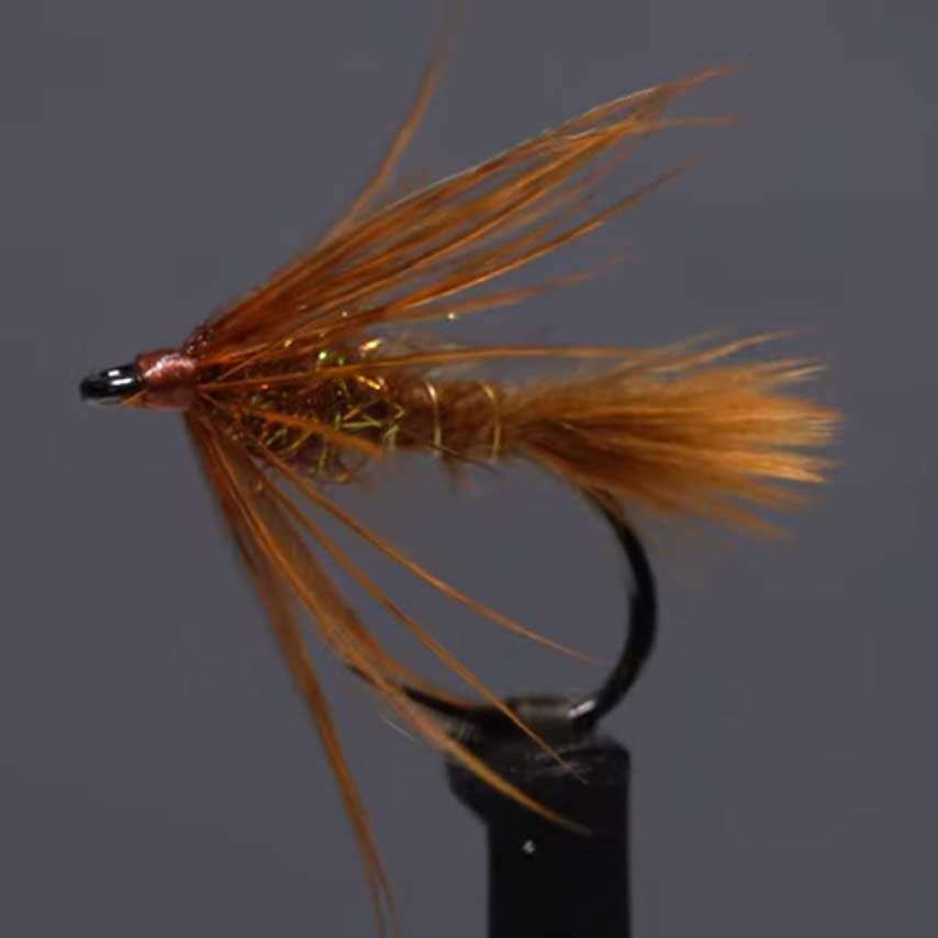 Video: How to Tie the October Caddis Soft Hackle
