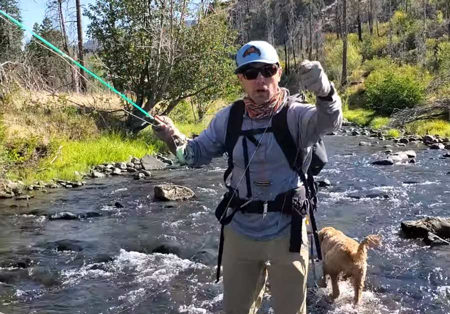 Video Pro Tip: How to Manage Your Line on a Small Stream