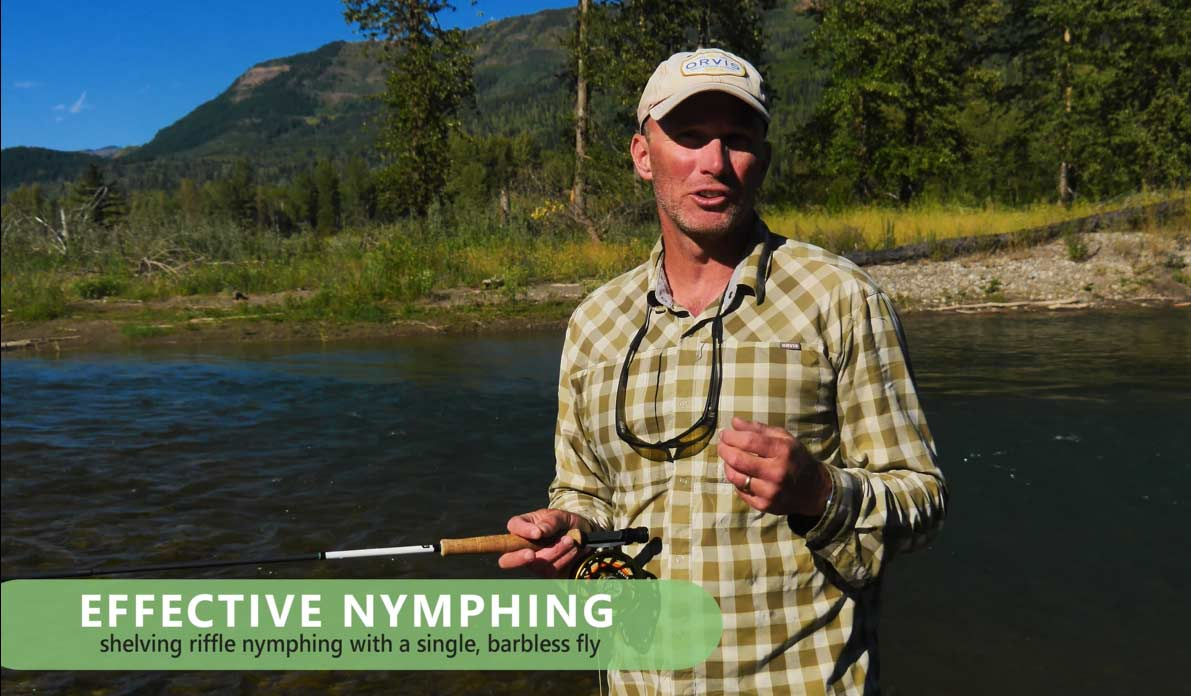 Video Pro Tips: How to Fish a Nymph Off a Gravel Shelf