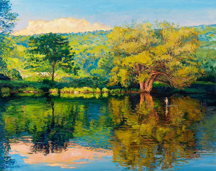 Angling Art: New Paintings of Catskills Rivers by Galen Mercer