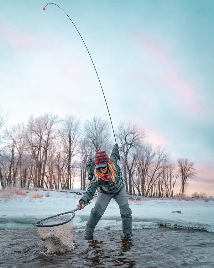 Podcast: Winter Fly-Fishing in the Far North, with Timbre Pringle
