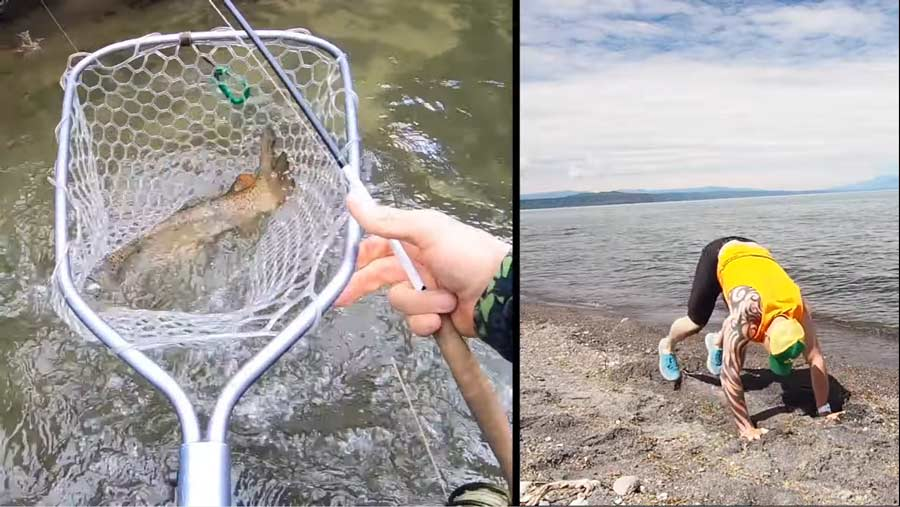 Video: How Long Should You Keep a Trout Out of the Water?