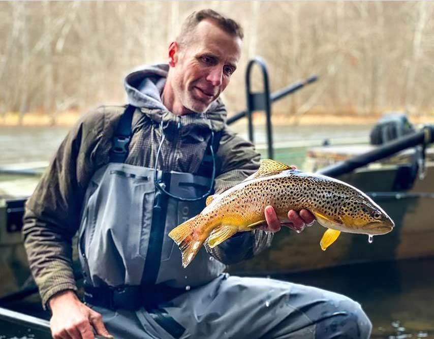 Podcast: George Daniel on Winter Fly Fishing