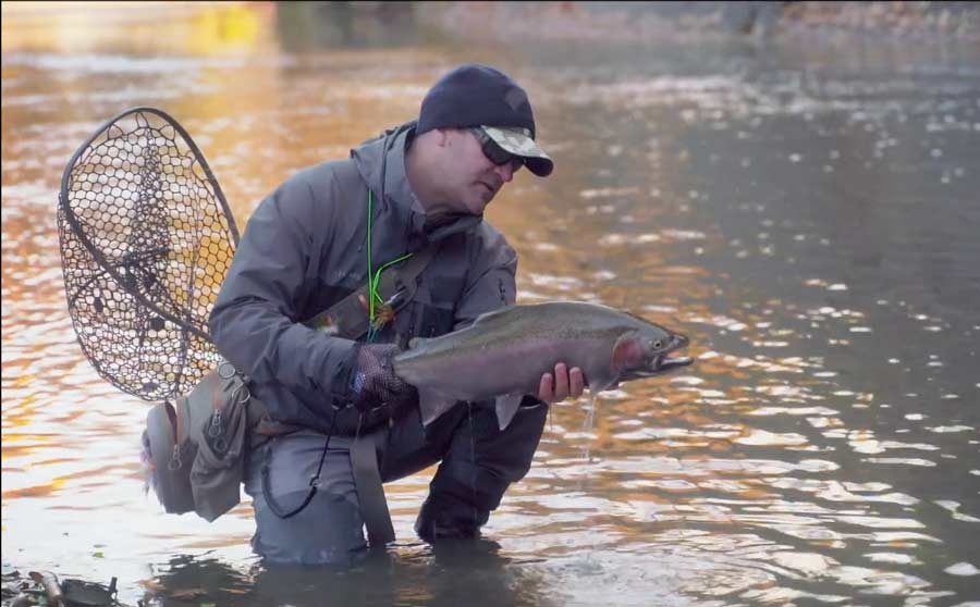 Video Pro Tips: How to Fight and Land a Steelhead