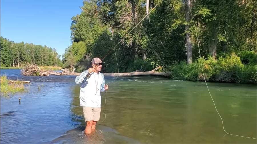 Video: Casting a Dry Fly Upstream vs Downstream